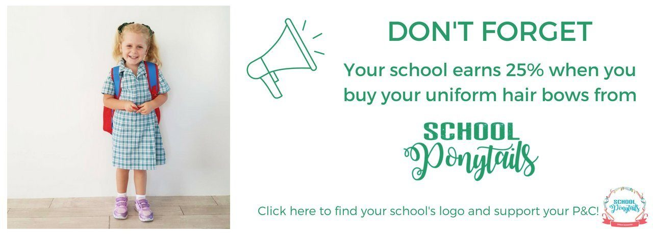 Support your school by shopping through their logo here
