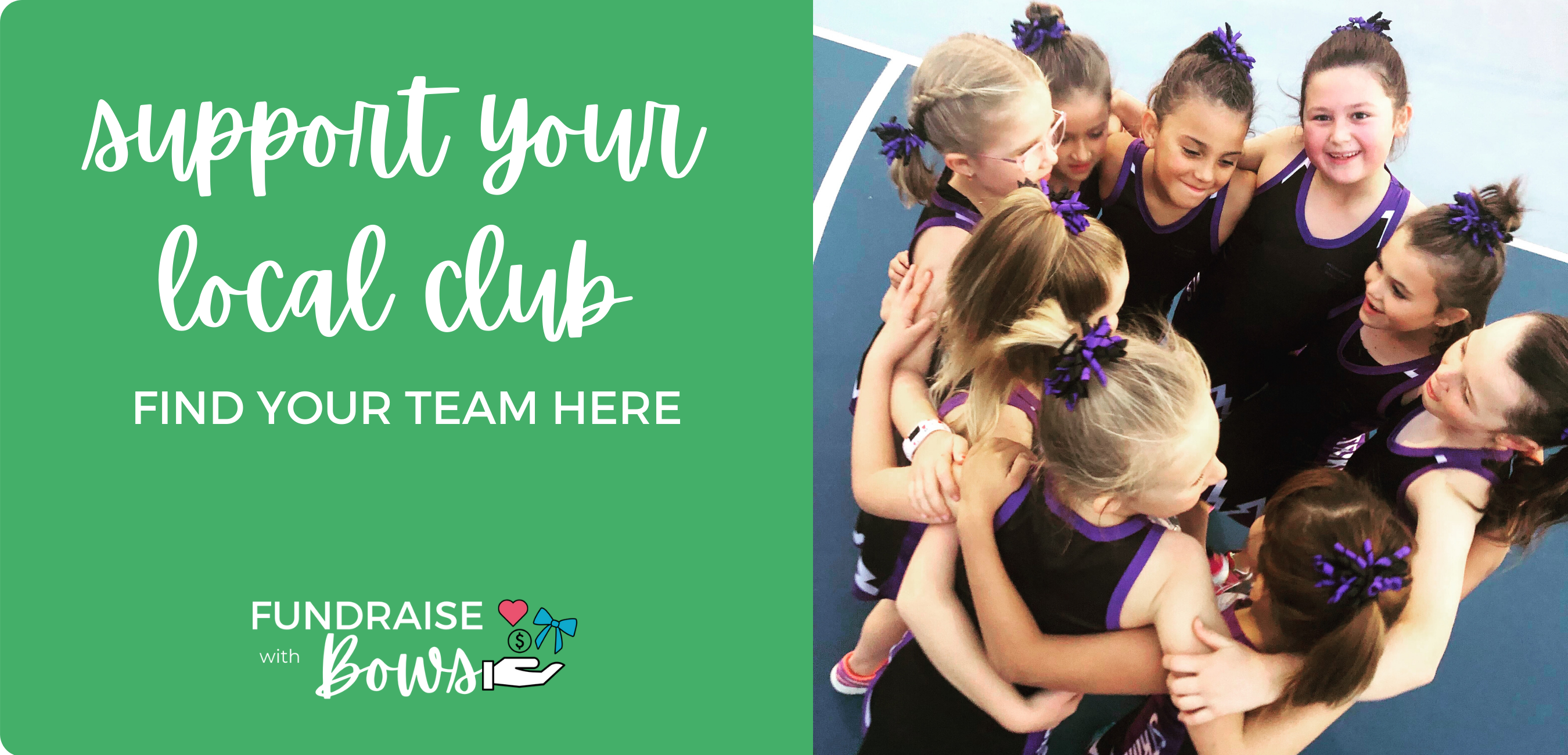 support your local club - fundraise with bows - ponytails and fairytales