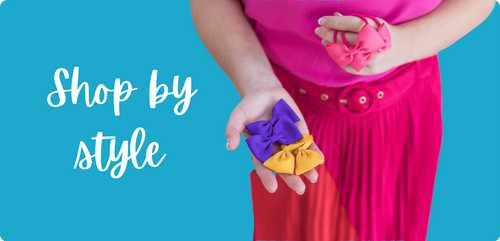 shop by style - bows clips headbands - australia - hair accessories