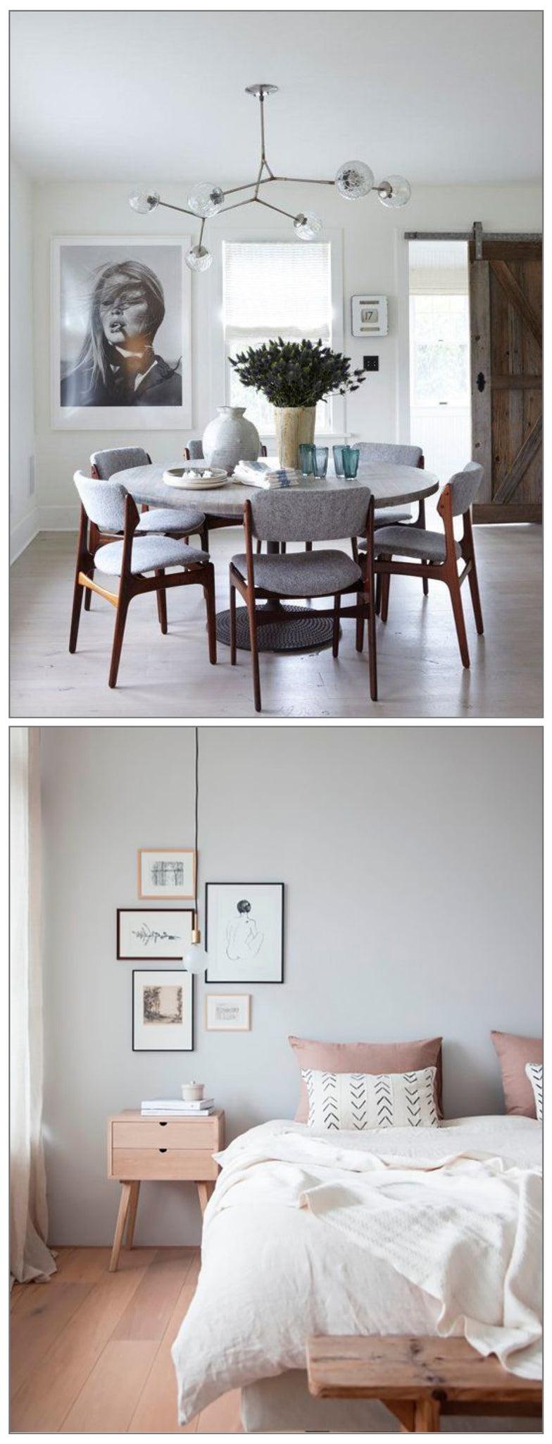 Get Spring Ready in 5: Clear those Surfaces! A room with clear space and surfaces looks inviting, clean and modern. That's not to say we are advocating minimalism for everyone , just striping things back a bit to give each room a fresh start.
