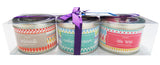 Tin Candle Gift Set - Drop