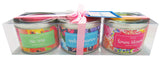 Tin Candle Gift Set - Bright Floral