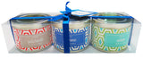 Tin Candle Gift Set - Diamond