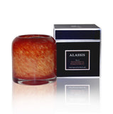 Alassis Large Mandarin & Passionfruit Art Glass Candle