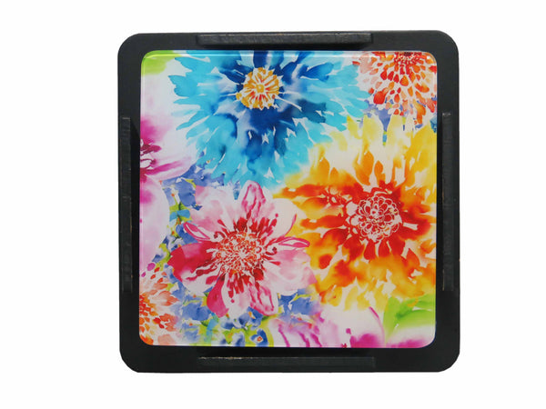 S/6 Coaster with Stand Acrylic - Aster