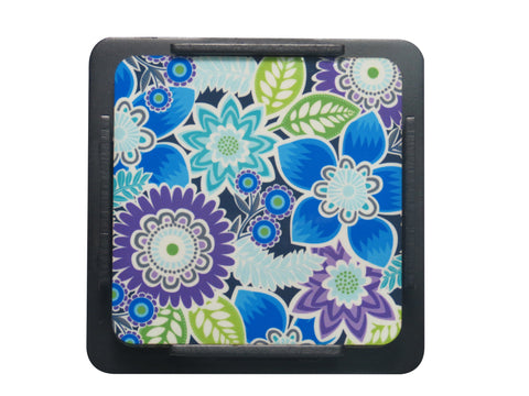 S/6 Coaster with Stand Acrylic - Flora