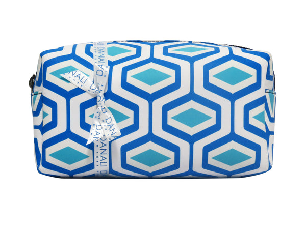 Diamond Blue Cosmetic Bag