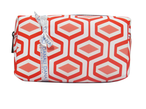 Diamond Coral Cosmetic Bag