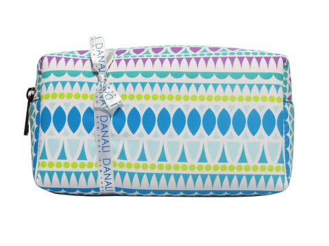 Drop Blue Cosmetic Bag