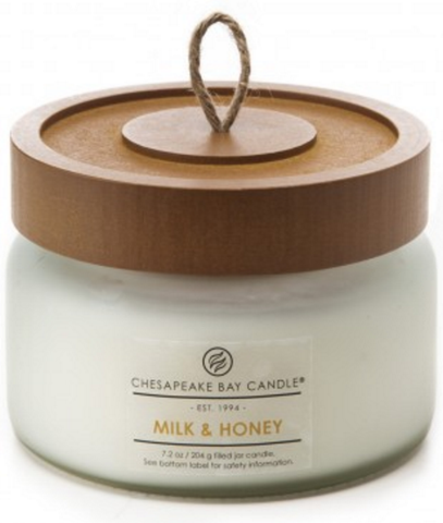 Heritage Milk & Honey Soy Wax Candle