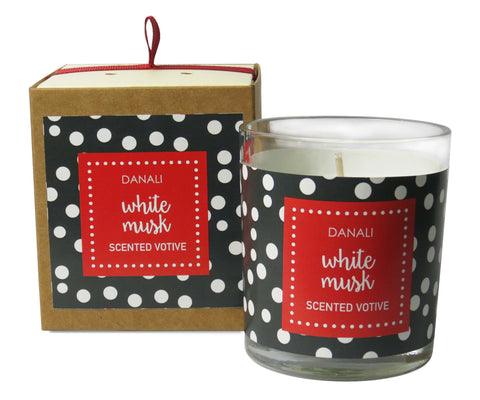 DANALI with PRIDE White Musk Candle
