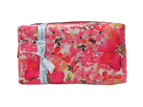 Pink Blossom Cosmetic Bag