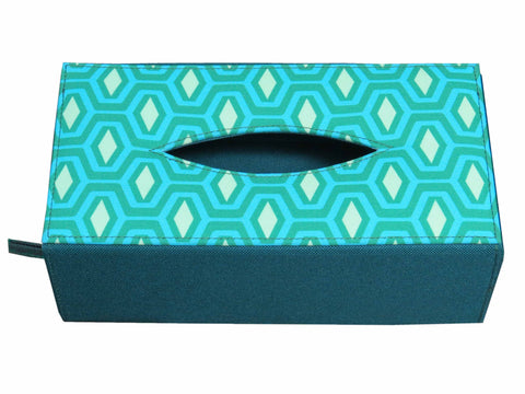 Diamond Print Tissue Box Sleeve