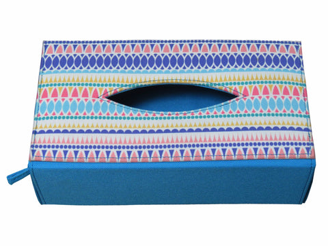 Drop Multicolor Tissue Box Sleeve