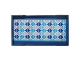 Triangle Blue Tray (Sm/Med/Lg)