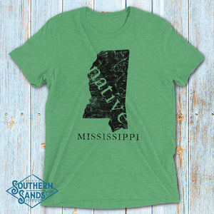 Mississippi Native Premium T-Shirt - Southern-Sands-T-Shirts