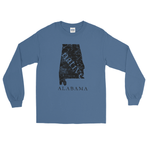 Alabama Native T-Shirt - Blue Alabama shirt