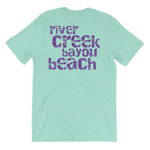 River Creek Bayou Beach Short Sleeve T-Shirt - Southern-Sands-T-Shirts