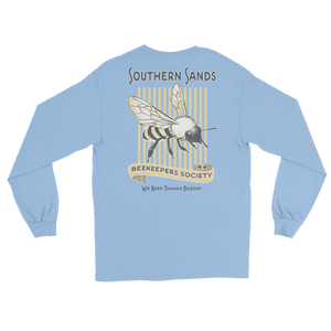 Southern Sands Beekeepers Society Long Sleeve Tee - Southern-Sands-T-Shirts