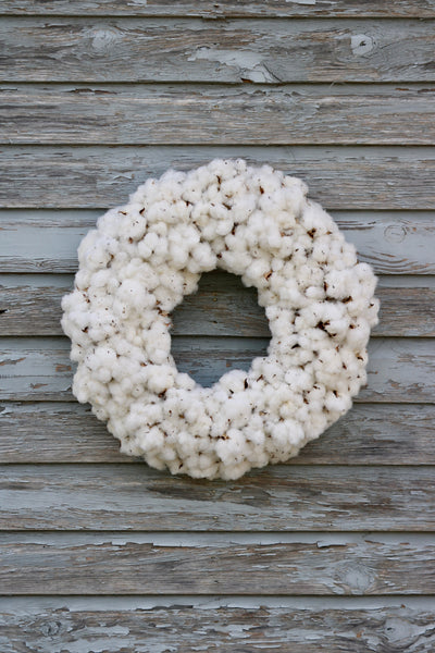 *BEST SELLER* Cotton Wreath