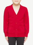 Kids V Neck Cardigan   CVC0054