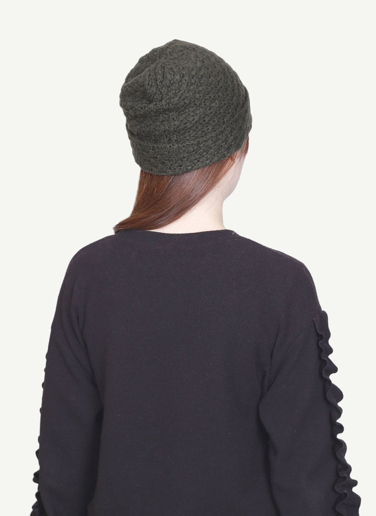 Hand Knitted Cashmere Hat   CH2039