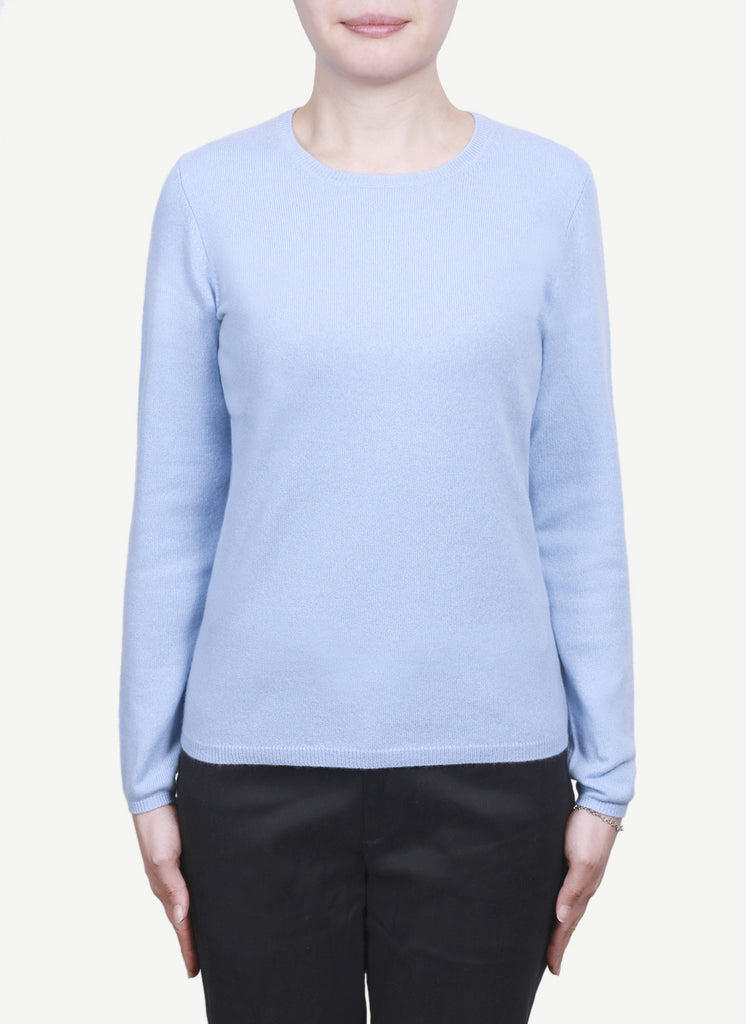 Women 12-Gauge Round Neck Pullover  LRP420