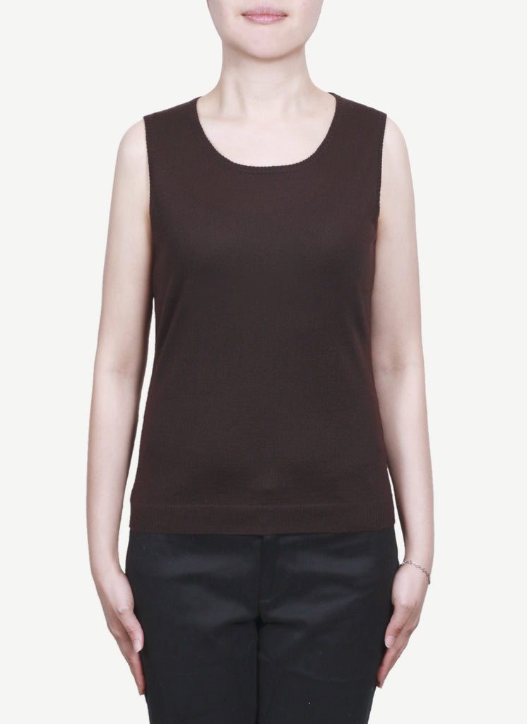 Women 16 Gauge Round Neck Vest  LRV1183