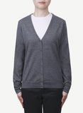 Women 16-Gauge V Neck Cardigan LVC1125