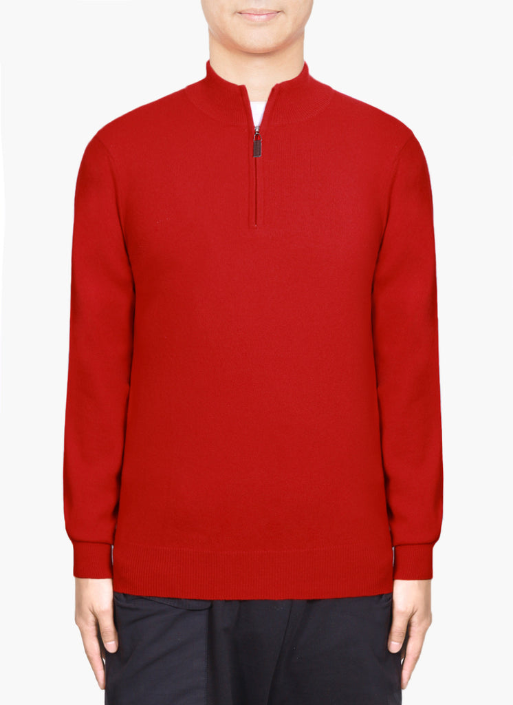 Men 12-Gauge Half Zip Pullover MMP1800