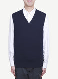 Men 12-Gauge Jersey V Neck Vest   MV1904