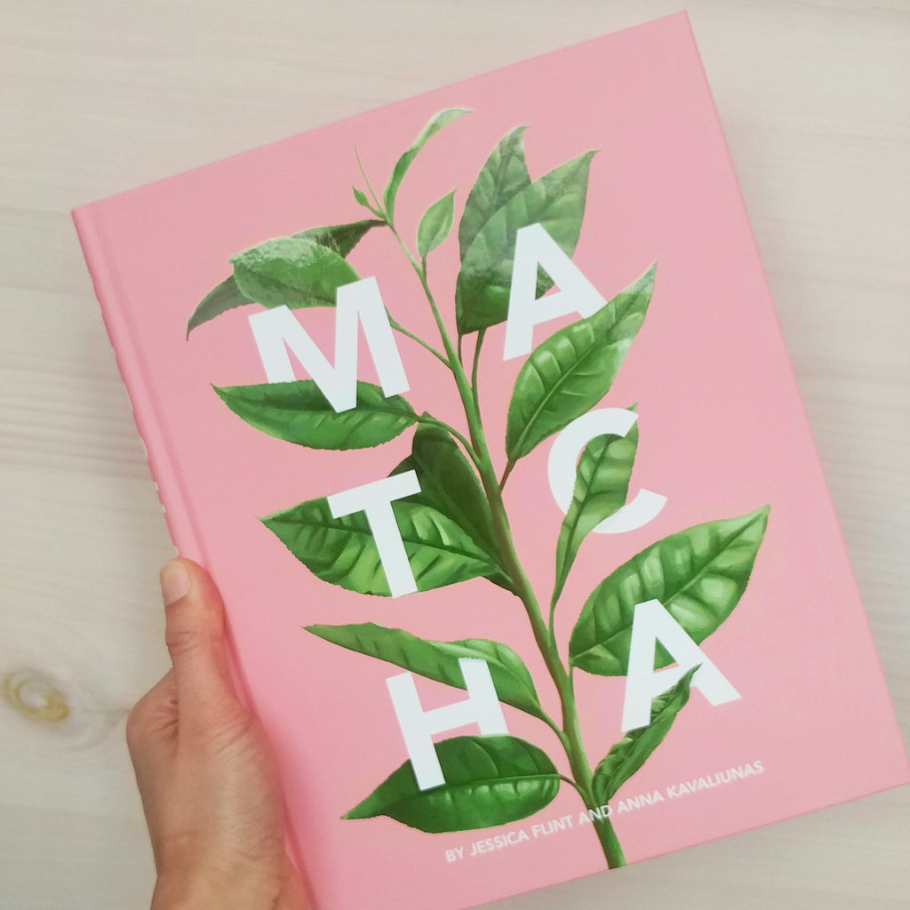 Chalait is featured in a new book about matcha!