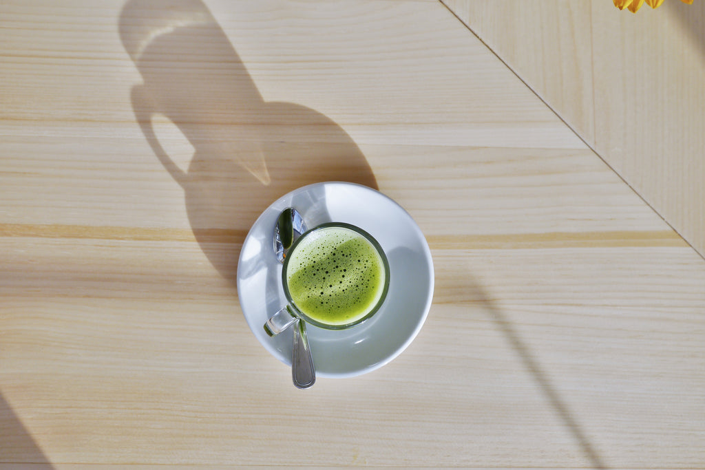 Matcha, Yoga and Meditation
