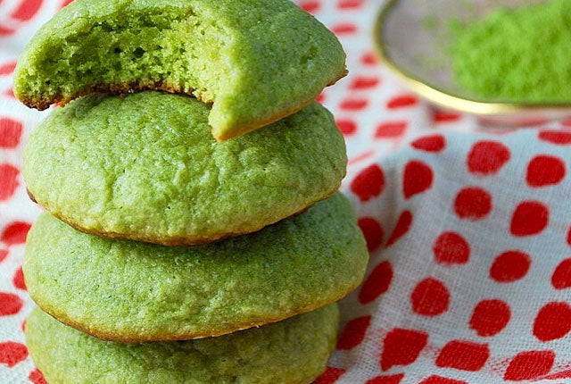 Green Tea Matcha Cookies Recipe by Ahu Eats