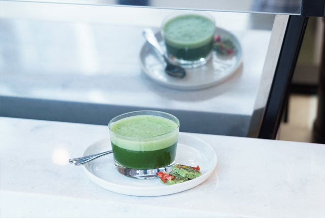 Simple Matcha Shot Recipe & Video Demonstration