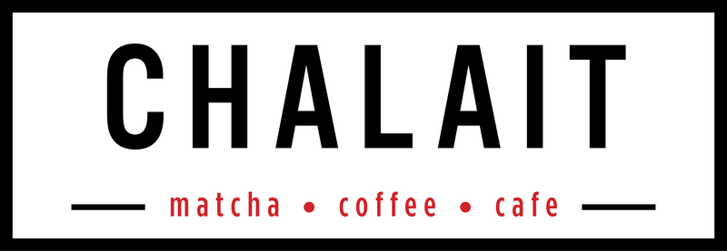 Chalait is a neighborhood café serving up our signature line of matcha green tea beverages, specialty coffee and teas as well as light breakfast and lunch.