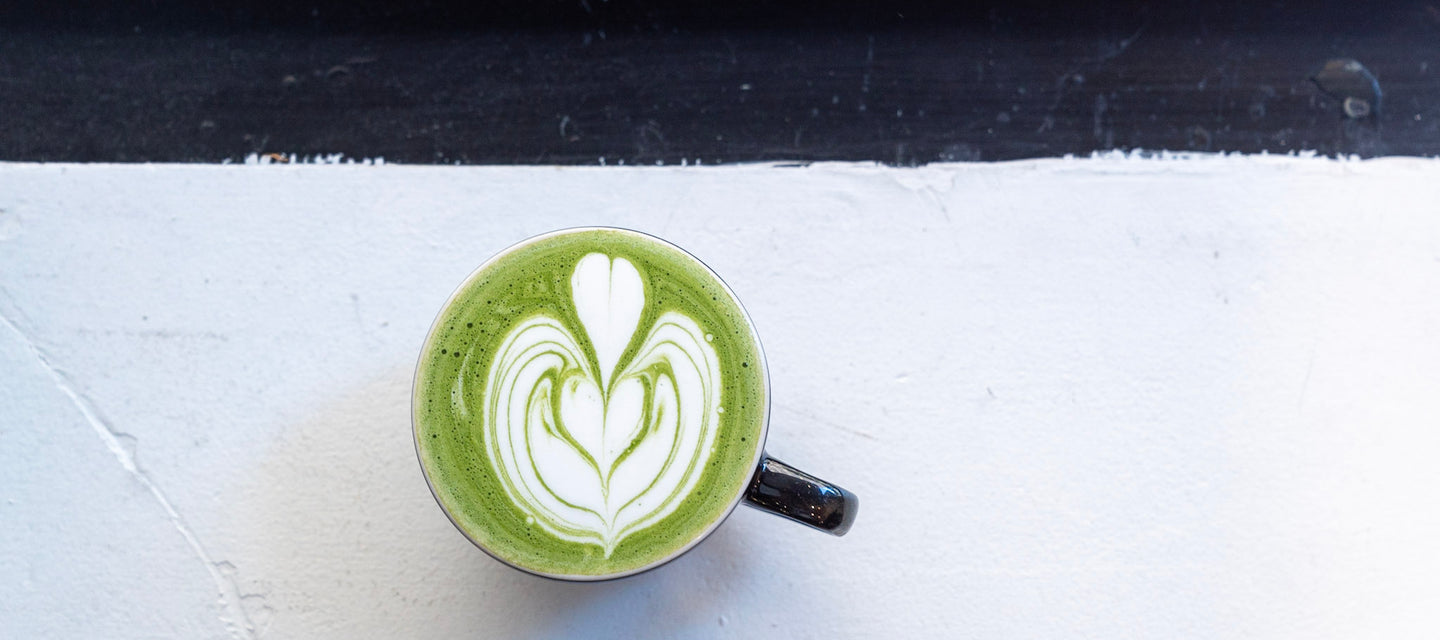 Delicious matcha for a healthy lifestyle