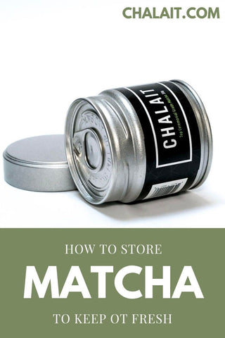 How to store matcha powder to keep it fresher for longer Pinterest