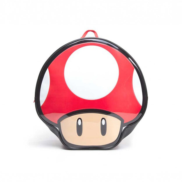 Mushroom Shaped Backpack (Gaming - Mario)
