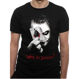 Why So Serious T-shirt (DC - Joker)