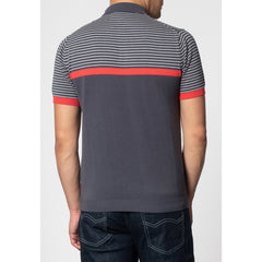 Blake Knit Polo - Merc