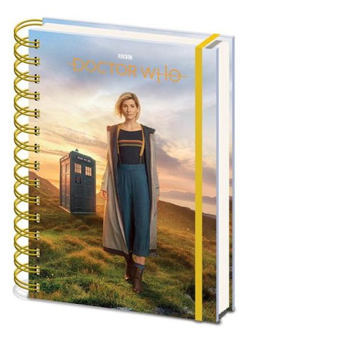 13th Dr Notebook (Dr Who)