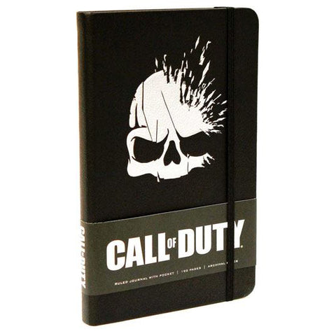 Skull Journal Notebook (Call Of Duty - Gaming)