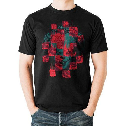 Collage Mask T-shirt (IT Chapter 2)