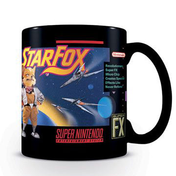 Star Fox Mug (Nintendo - Gaming)