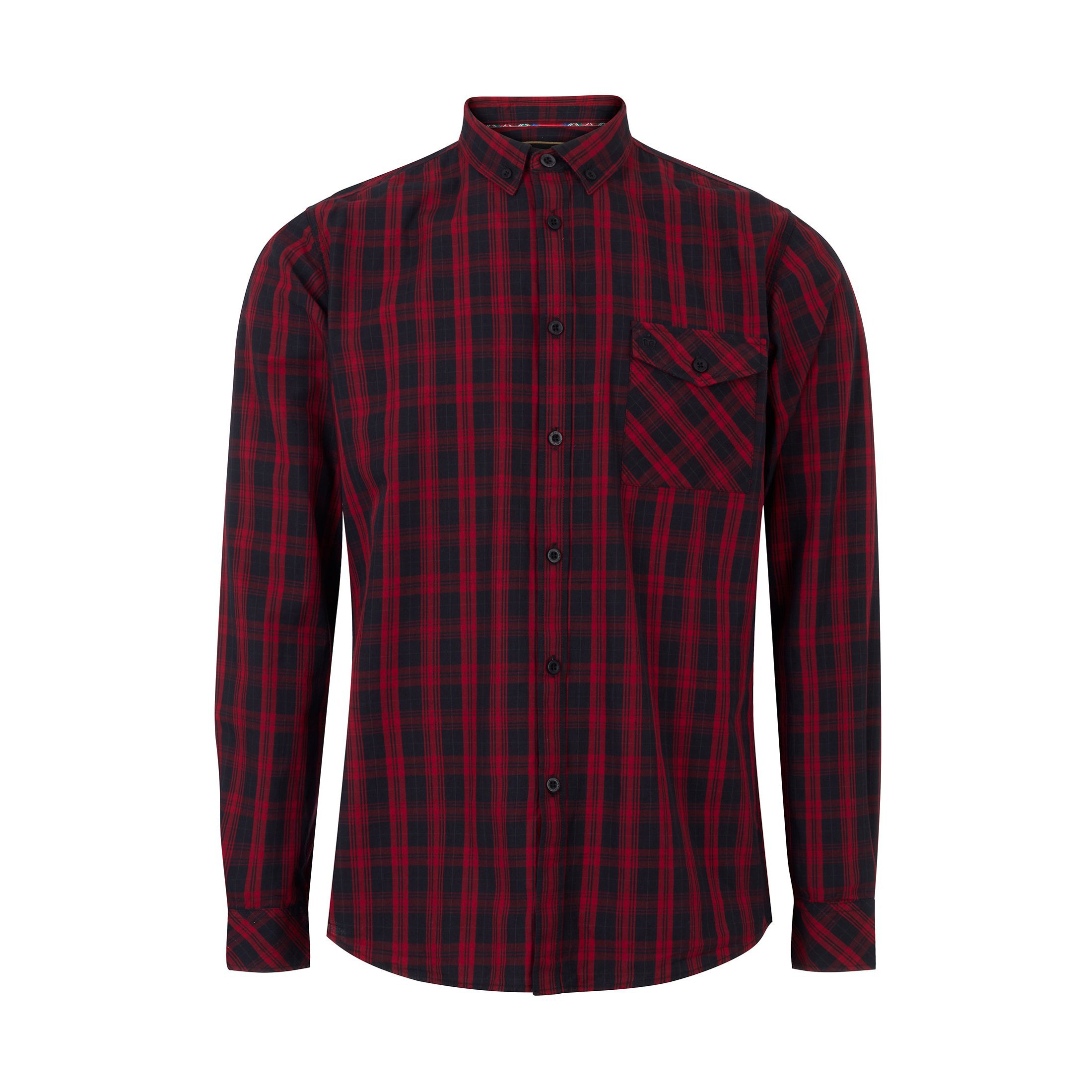Brixton Check Shirt - Merc