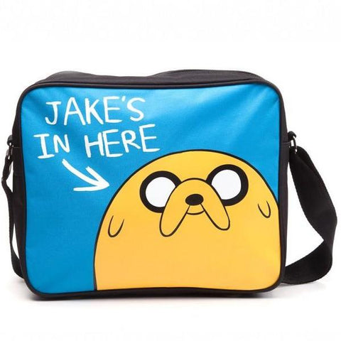 Jakes In Here Messenger Bag (Adventure Time)
