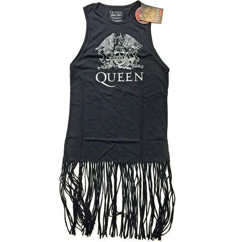 Crest Vintage Tassel Dress (Queen - Music)
