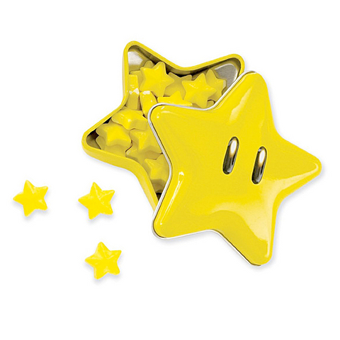 Nintendo Super Star Tinned Candies