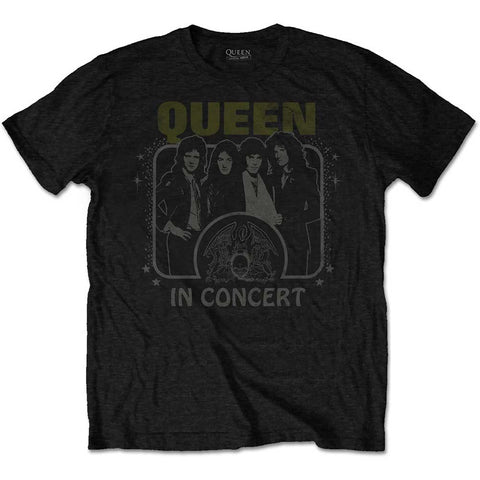 In Concert T-shirt (Queen - Music)